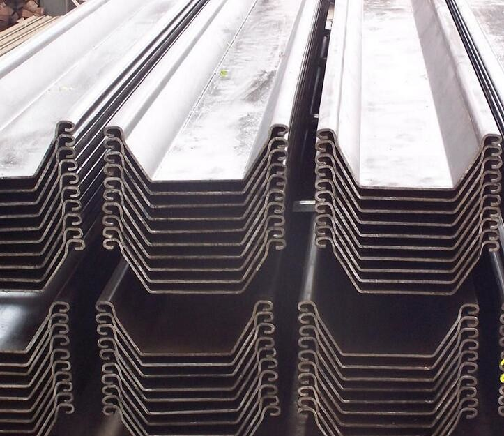 Cold Rolled U Type Steel Sheet Pile EN10249-1 / EN10249-2 Different Specification