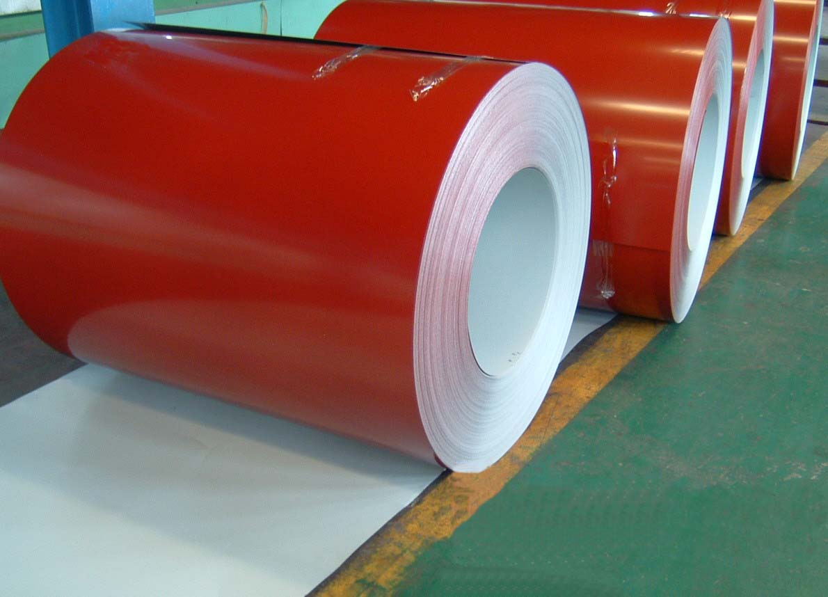 white, blue or customized JIS, CGCC Soft (PPGI / PPGL) Prepainted Color Steel Coils
