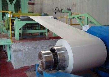 China 40 - 275 g/m2 zink Coating 700 - 1250 mm breedte nl 10169 DX51D + Z kleur coating staal Coil fabriek