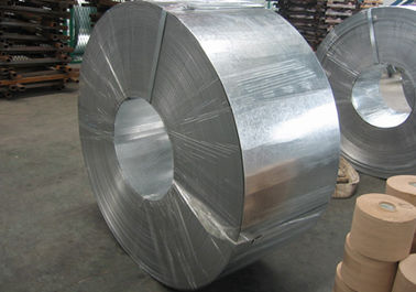China Z10 - Z27 zinkcoating 400 mm Hot Dipped Galvanized staal Strip / Strips (koolstofstaal) verdeler